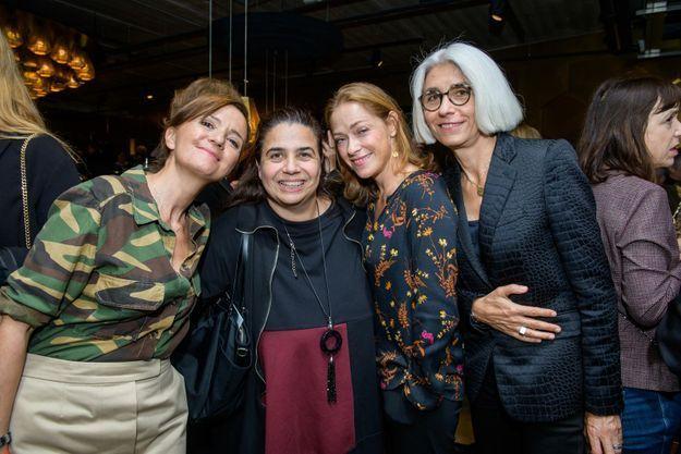Véronique Vatinos, Monica Donati, Philomène Piégay et Françoise Delbecq