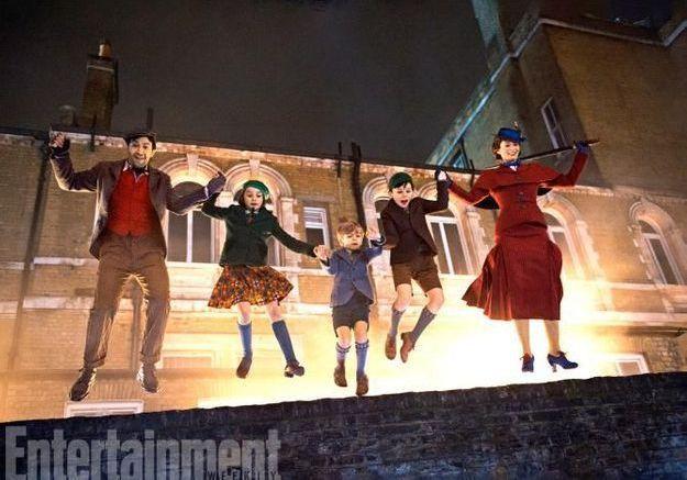 Le retour de Mary Poppins : découvrez vite les premières images du film !
