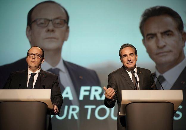 « Présidents », le film hilarant qui rejoue un face-à-face Hollande-Sarkozy