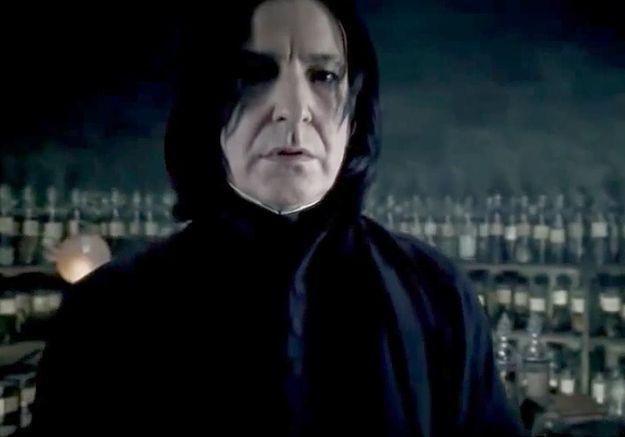 Prêt-à-liker : Rogue, le méchant dans Harry Potter, comme vous ne l'avez jamais vu