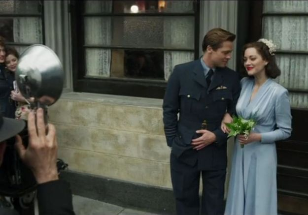 #PrêtàLiker : Brad Pitt et Marion Cotillard réunis dans « Alliés »