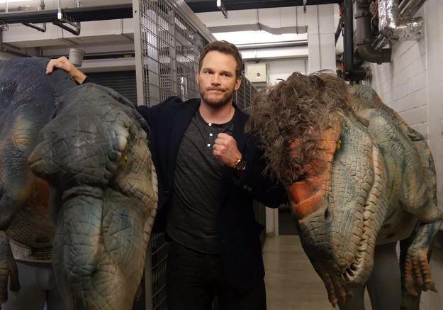 #PrêtàLiker : le héros de Jurassic World se fait piéger par… un dinosaure