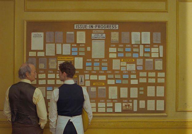 «The French Dispatch»: Wes Anderson dévoile son casting cinq étoiles dans une bande-annonce