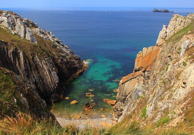 La plage de Crozon-Morgat, dans le Finistère