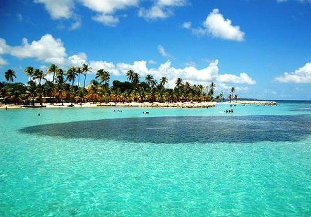 Presqu'île de la Caravelle, en Martinique