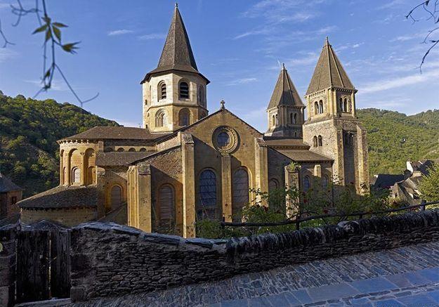 Conques, en Aveyron