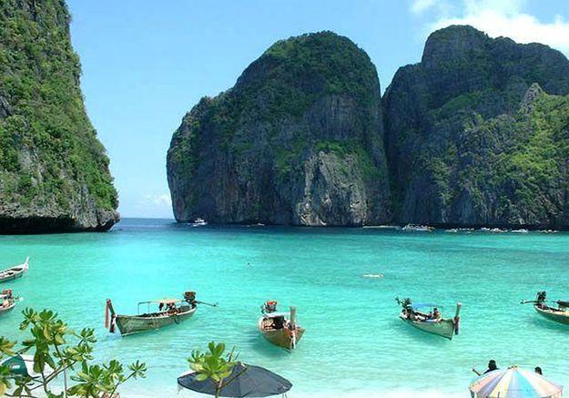 Maya Bay, en Thaïlande