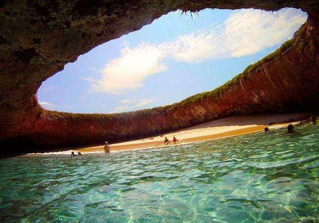 Playa del Amor, au Mexique