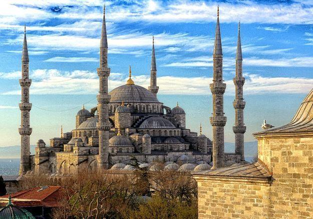 La basilique Sainte Sophie à Istanbul, en Turquie