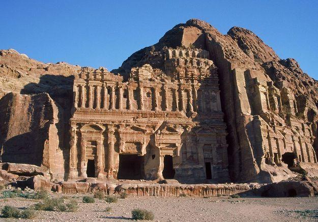 La Cité perdue à Pétra, en Jordanie