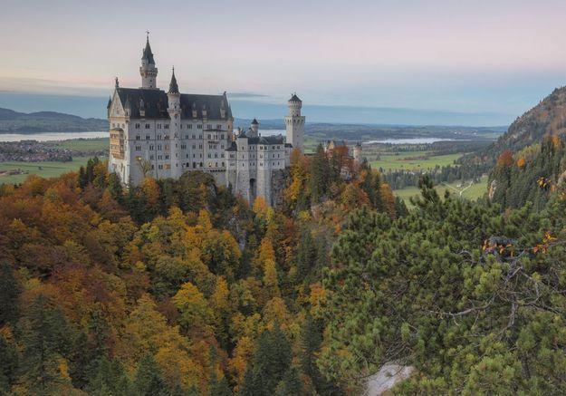 Le Château de Neuschwanstein à Schwangau, en Allemagne