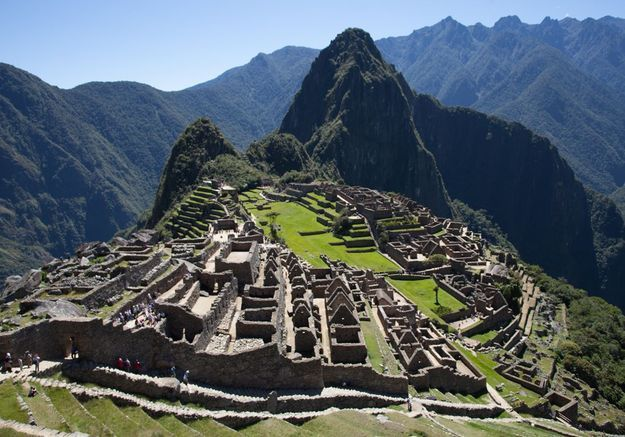 Le Machu Picchu à Urubamba, au Pérou