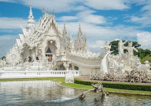 Le Temple bouddhiste «Chiang Rai» à Chiang Rai, en Thaïlande