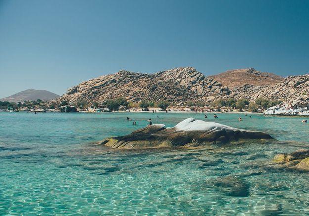 Paros, en Grèce