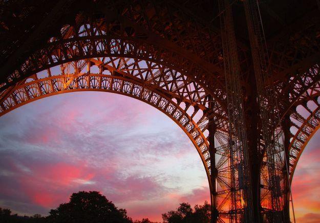 Au premier étage la Tour Eiffel