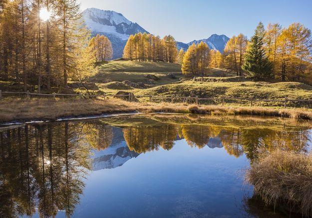 Dans le Parc national de la Vanoise, en Savoie