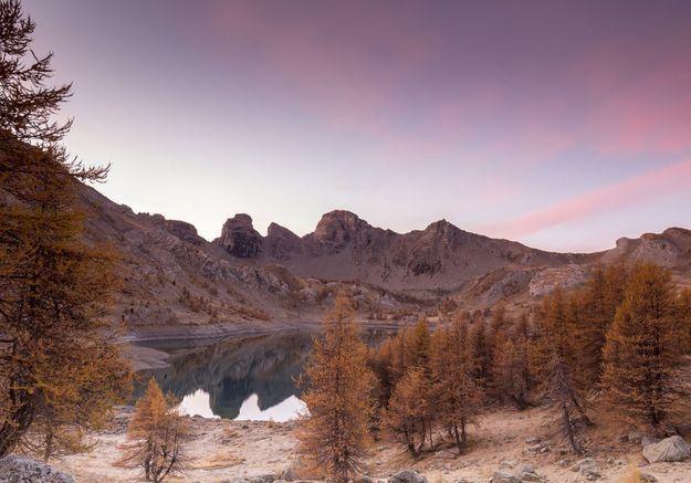 Dans le Parc national du Mercantour, dans les Alpes Maritimes