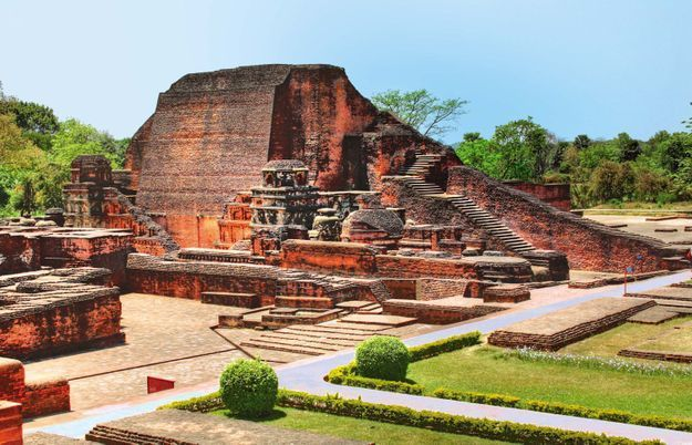 Site archéologique Nalanda Mahavihara, Bihar