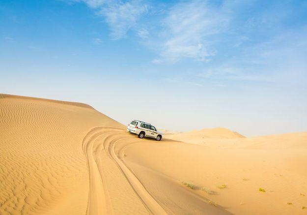 Expérimenter le dune-bashing