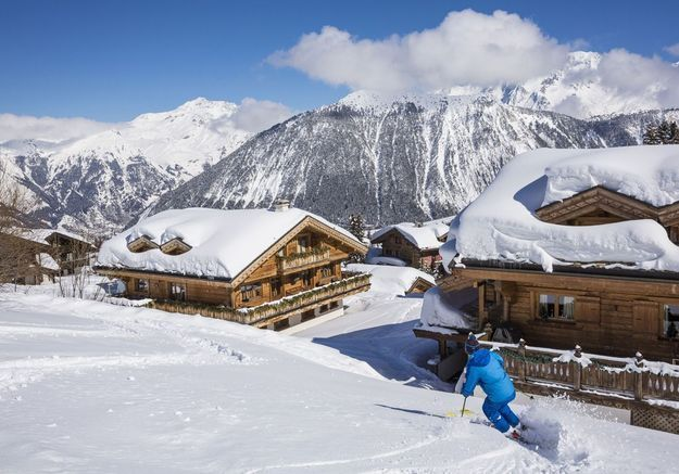5 raisons de faire du ski à Courchevel