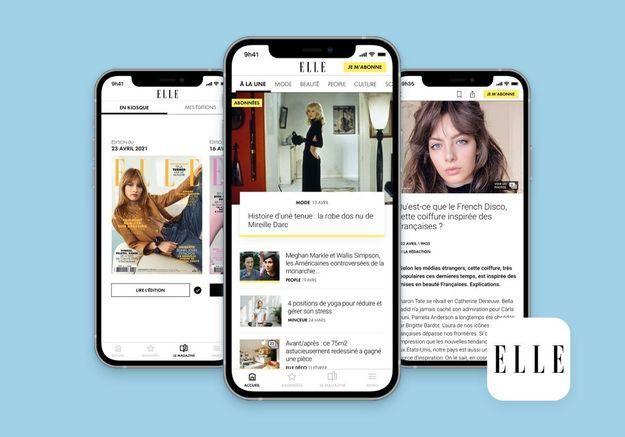 L'appli ELLE est disponible, et on vous offre sept jours d'abonnement