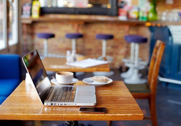 La pépite du Web : Work Hard Anywhere, l'appli qui recense les meilleurs spots avec wifi gratuit