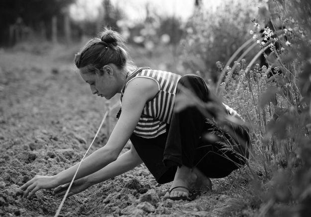 Anaïs Kerhoas: elle envoie tout sur les roses pour cultiver de la camomille