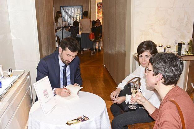 Maxime Gillio et nos lectrices jurées