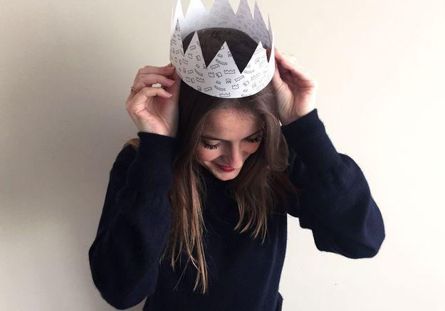 une couronne pour la galette des rois
