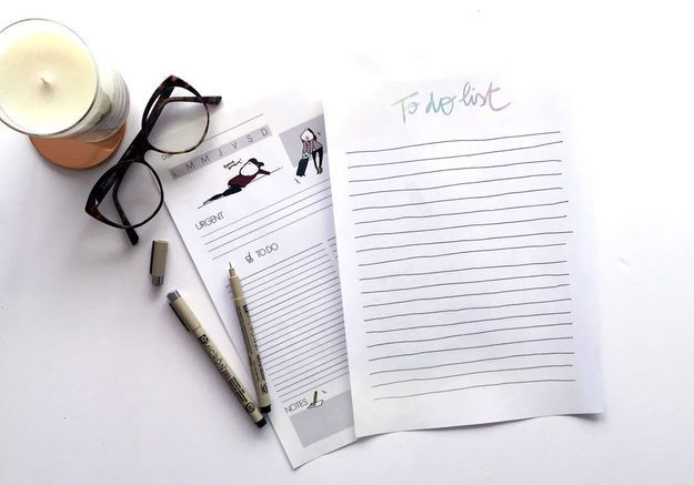 #DIY : Imprimez vos to do list