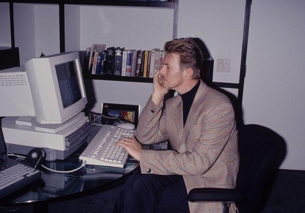 David Bowie découvre internet en 1994