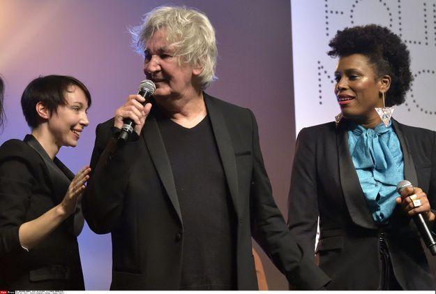 Jacques Higelin avec Jeanne Cherhal et Sandra Nkaké en 2015