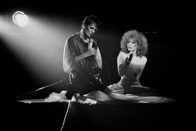 Jacques Higelin et Armande Altaï en 1982