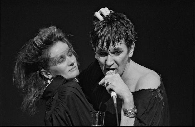 Jacques Higelin et Diane Dufresne en 1983
