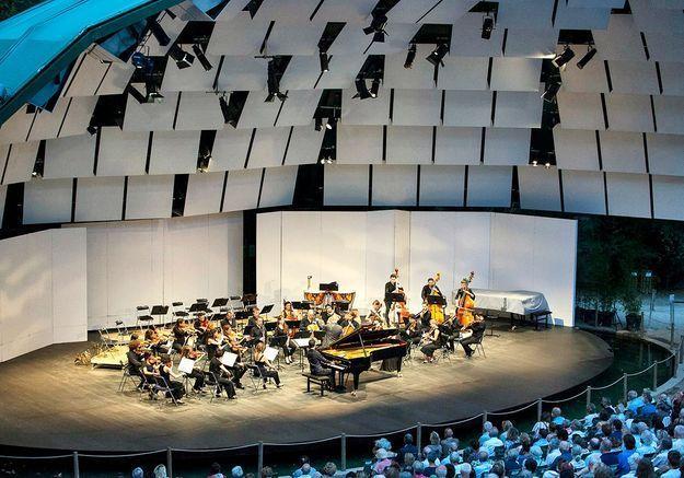 Piano, cigales et platanes... bienvenue au festival de La Roque-d'Anthéron