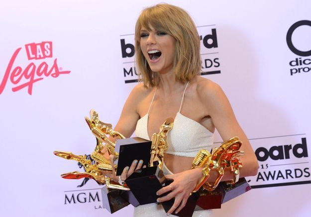 Billboard Music Awards 2015 : Taylor Swift était la reine de la soirée