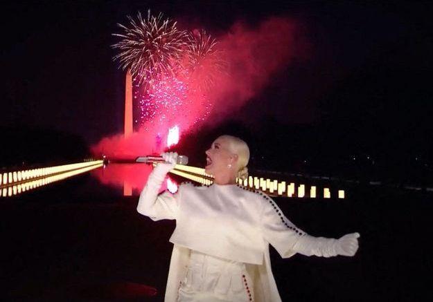 Investiture de Joe Biden : revivez la performance de Katy Perry à Washington