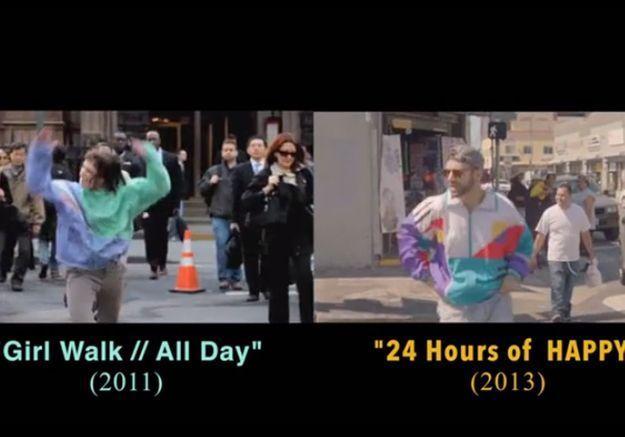 Le clip Happy de Pharrell Williams est-il un plagiat?