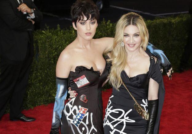 Madonna rassemble Beyoncé, Nicki Minaj et Katy Perry dans son prochain clip