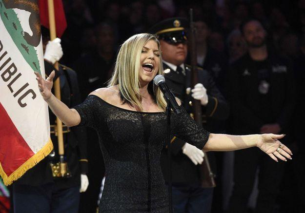 Malaise : Fergie a massacré l'hymne américain