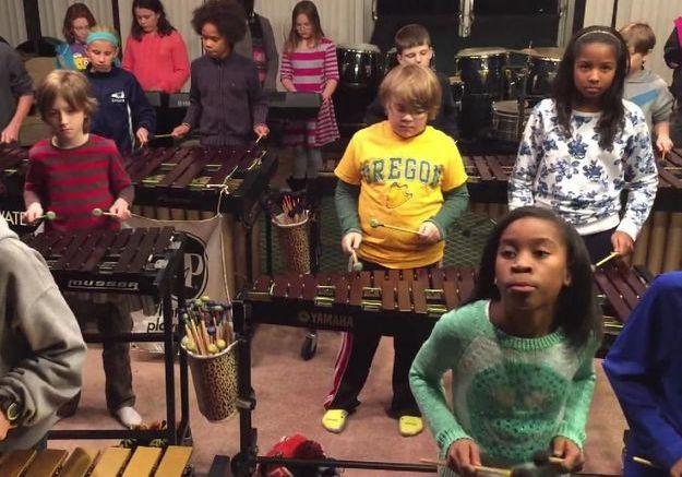 #Prêtàliker : quand des enfants reprennent Led Zeppelin au xylophone