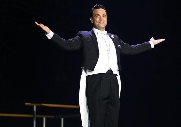 Robbie Williams, entièrement nu sur la pochette de son album surprise