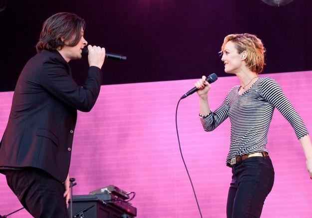 Vanessa Paradis et Benjamin Biolay sortent leur premier duo en couple