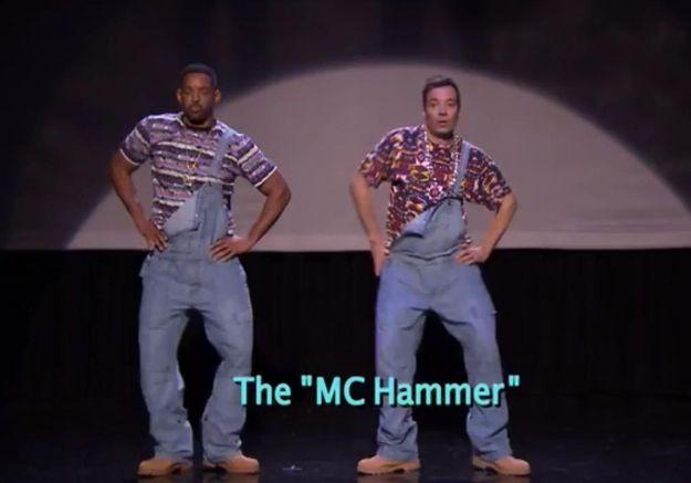Will Smith et Jimmy Fallon vous donnent un cours de hip-hop
