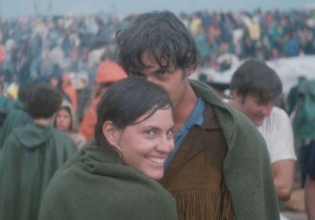 Woodstock : cinquante ans plus tard, ce couple rejoue une photo de leur coup de foudre