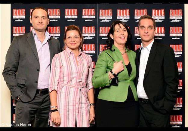 Jean-Christian Mattei, Marie-Hélène Jacob, Sophie Bechu et Marc Bechu.