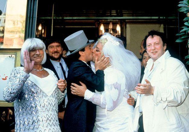 Mariage avec Thierry Le Luron
