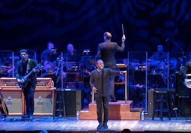 L'anti-blues du dimanche soir : Kendrick Lamar en live avec l'orchestre national américain