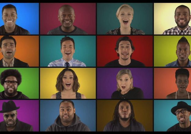 #PrêtàLiker : The Roots et les acteurs de Star Wars reprennent le thème du film a cappella