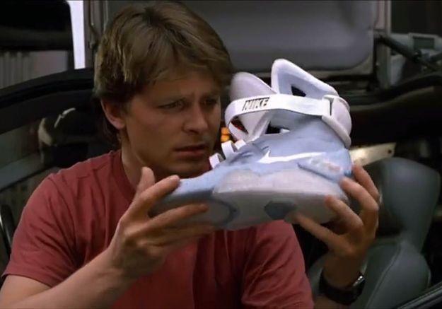 3adeeeddbe0 Retour vers le futur   Nike sort les baskets « auto-laçantes » de Marty  McFly